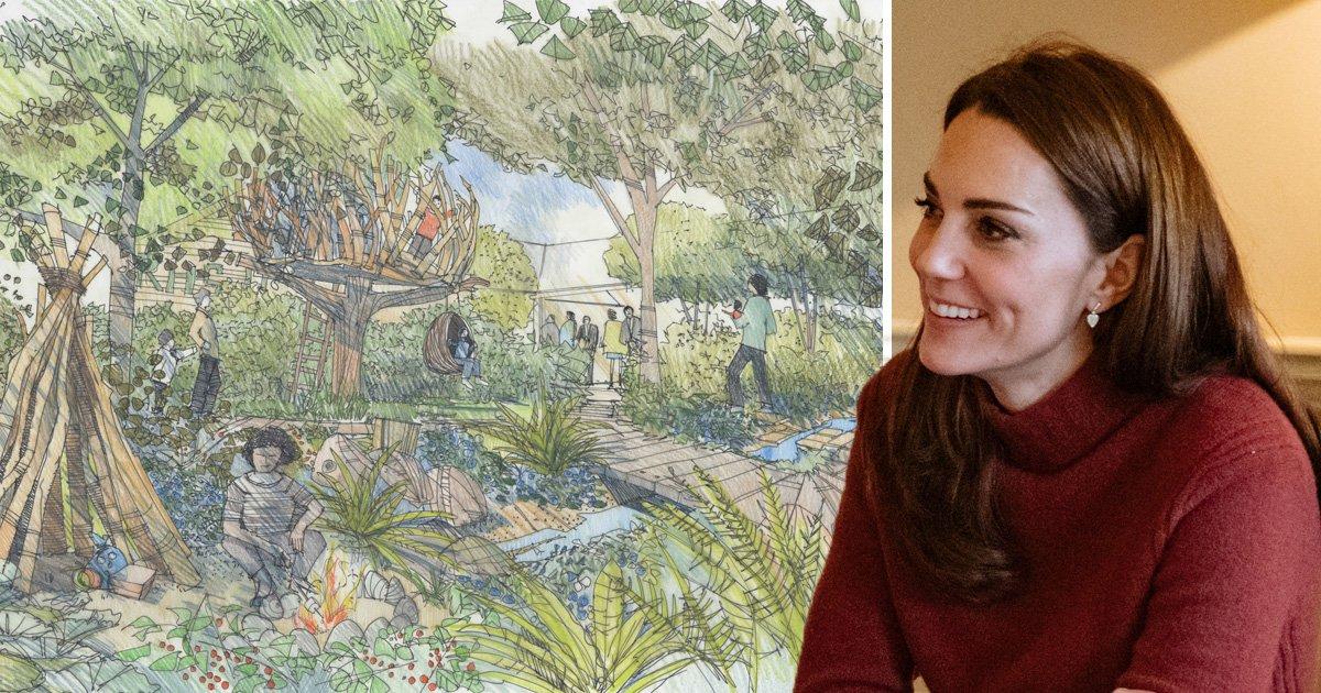 Kate Middleton reveals woodland garden design for Chelsea Flower Show