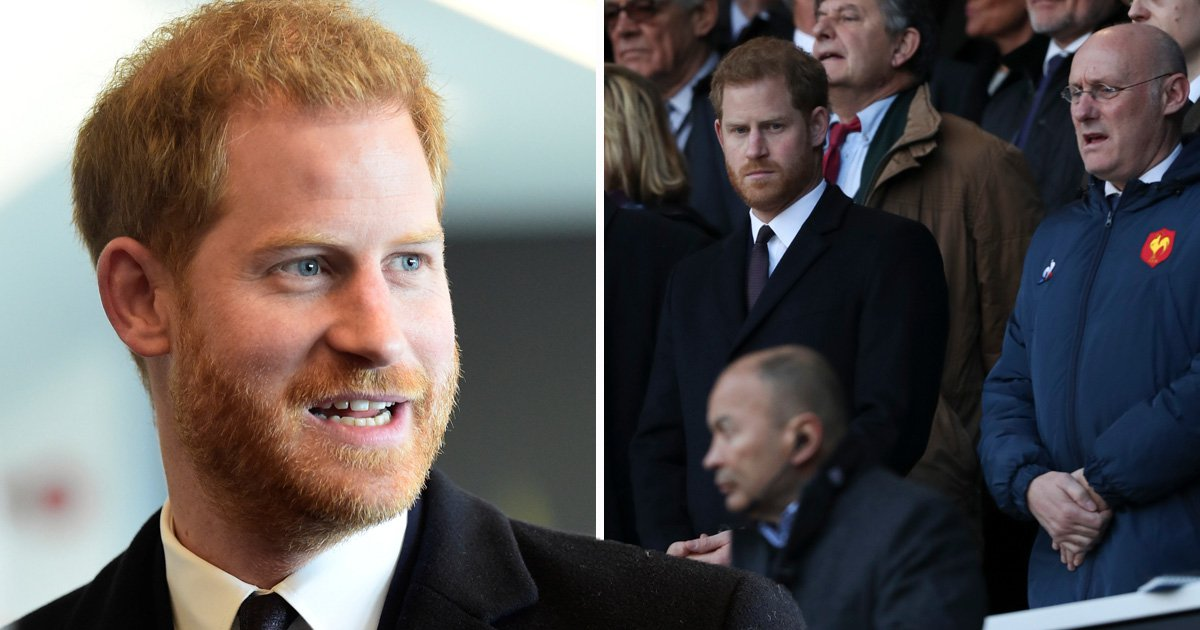 Prince Harry told fatherhood is 'greatest adventure' during pep-talk by rugby dads