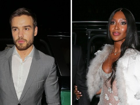 Liam Payne and 'girlfriend' Naomi Campbell both attend Vogue's Baftas after-party… but arrive separately