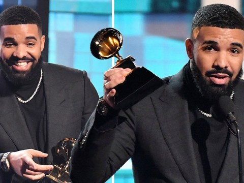 Drake makes surprise appearance at the Grammys 2019 as he wins best rap song