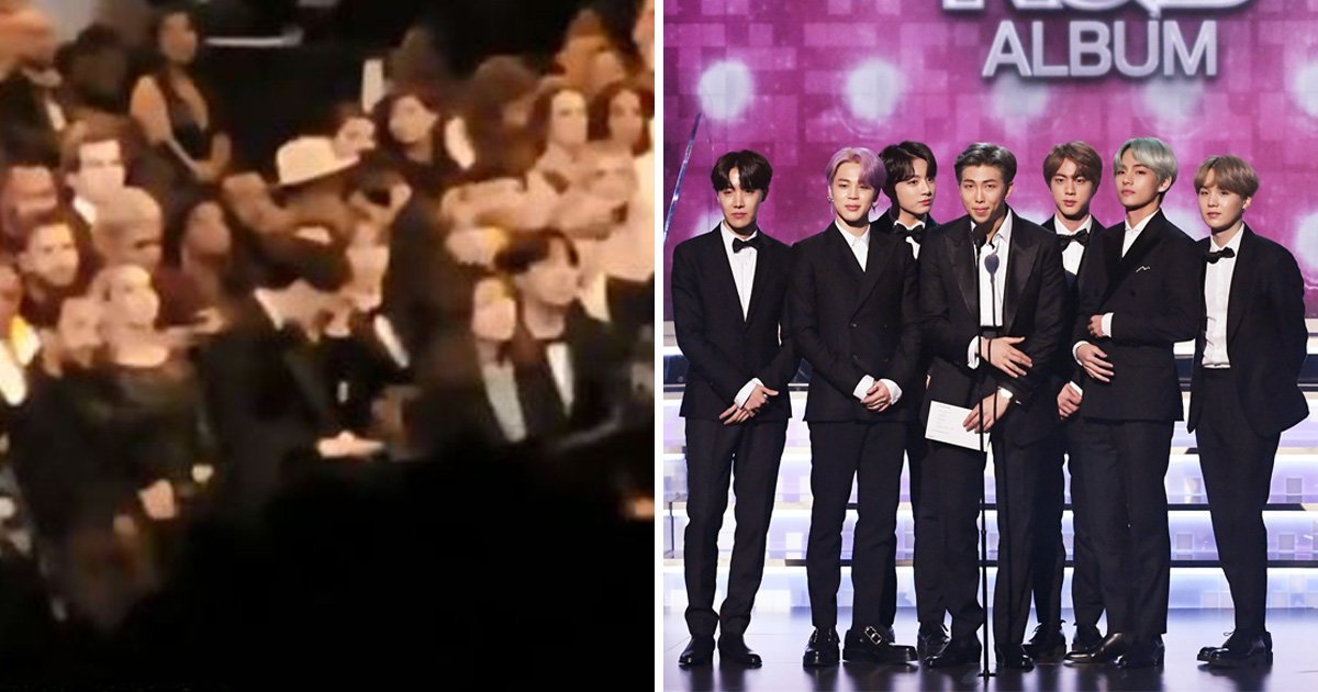 Jungkook wipes away tears during Dolly Parton Grammys performance, because legends stan legends