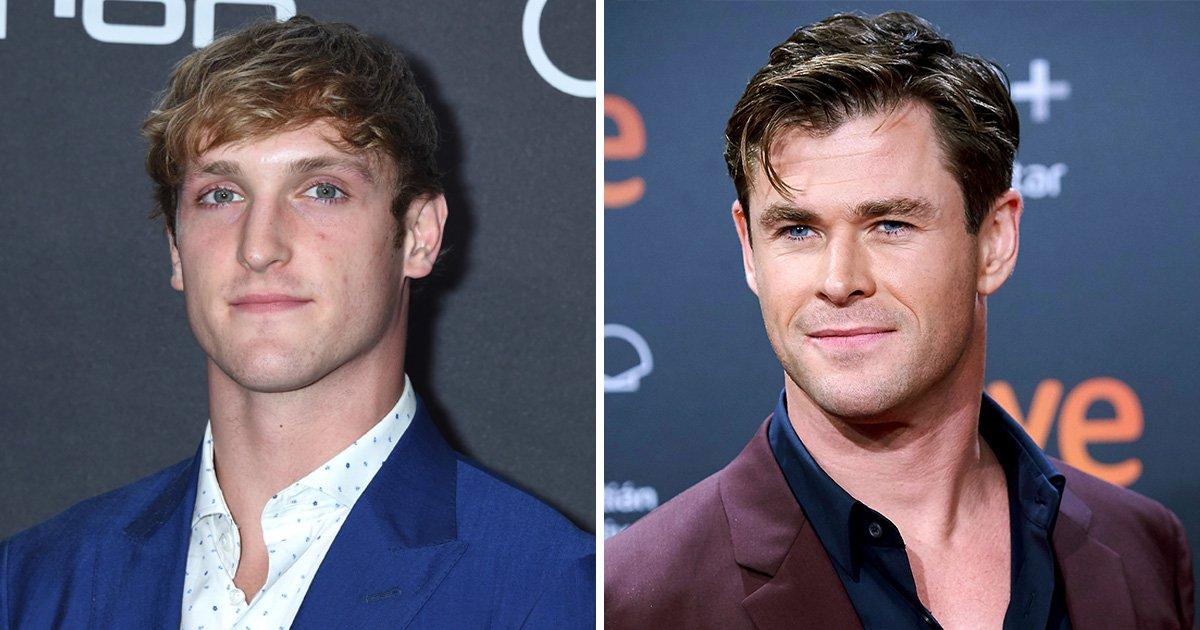 Logan Paul wants to fight Chris Hemsworth