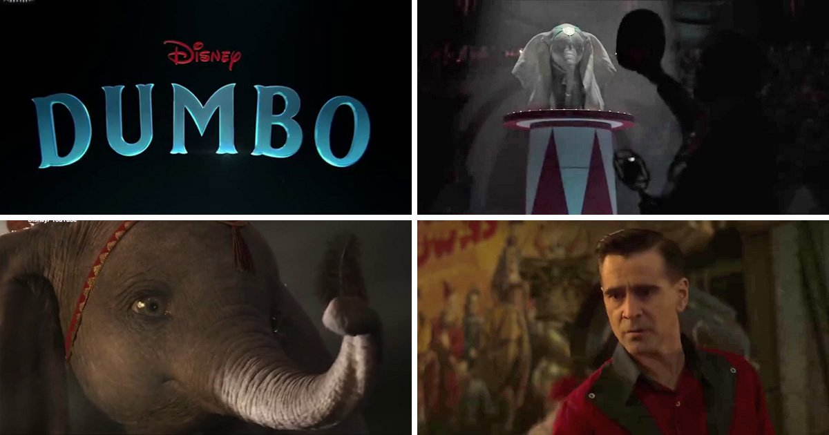 New Dumbo teaser drops and we can't handle the adorableness