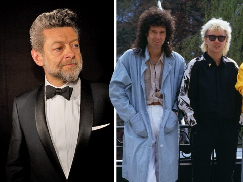 Andy Serkis awkwardly shades Queen in front of Brian May while presenting Baftas