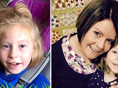 Parents warn never to kiss a baby on the lips after their daughter suffered brain damage