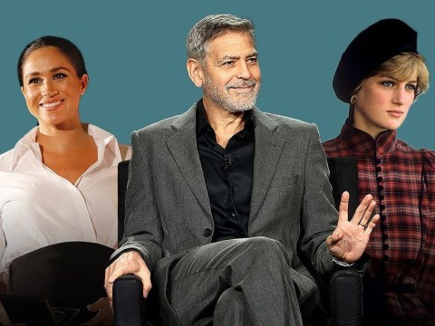George Clooney says Meghan Markle is being hounded just like Princess Diana