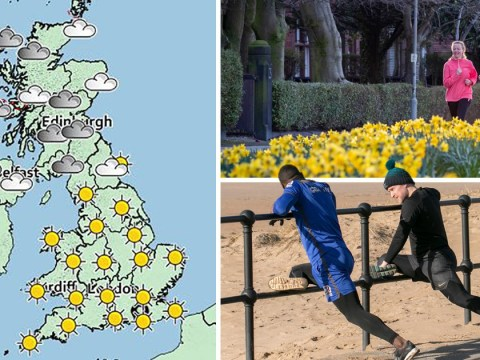 Spring has sprung early with temperatures hitting double figures this weekend