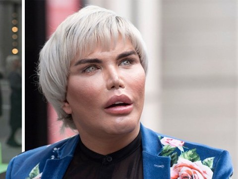 Human Ken Doll Rodrigo Alves shows off new face following 70th surgery as he films TV series
