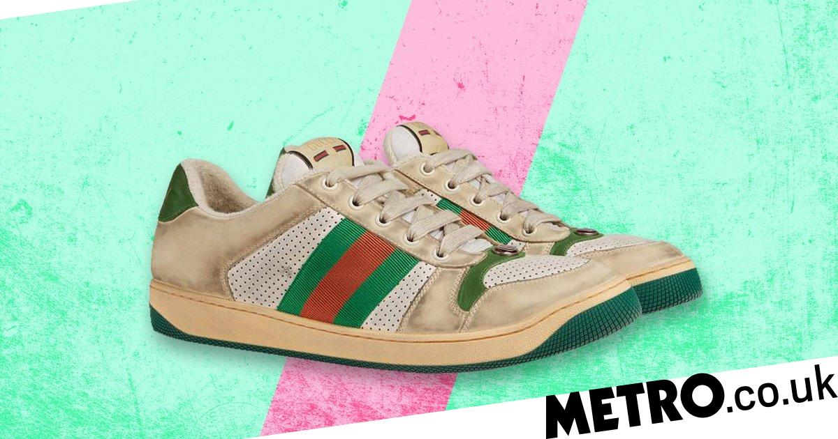 Gucci is selling £615 trainers that