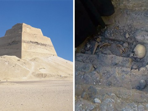 Skeleton of a teen girl discovered next to mysterious pyramid in Egypt