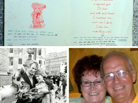 Devoted husband has sent the same Valentine's Day card to wife for the last 40 years