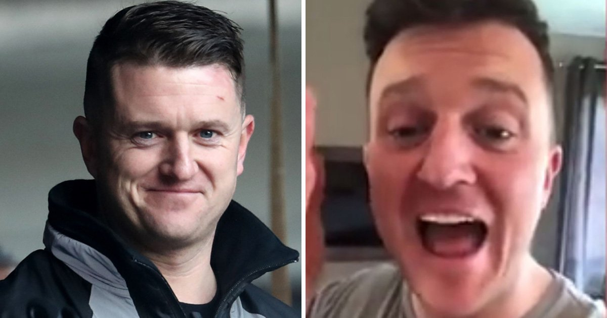 Tommy Robinson makes racist slur in video and brags about getting 'drugs anywhere'
