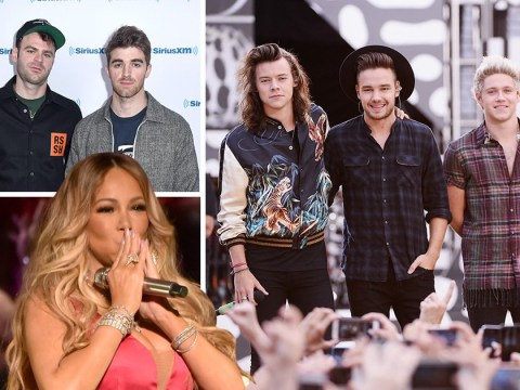 Mariah Carey mistakes The Chainsmokers for One Direction but totally owned her error