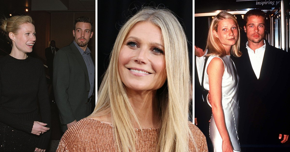 Gwyneth Paltrow wants to name cockroaches after her exes so sorry Brad Pitt and Ben Affleck