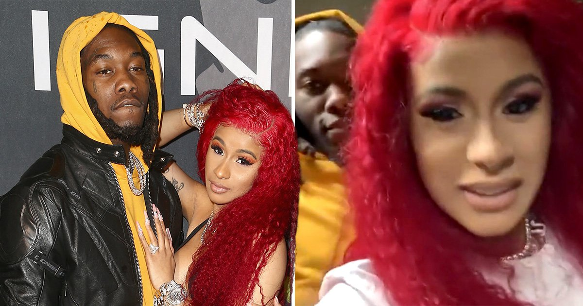 Cardi B gives us a rather graphic insight into Valentine's Day with husband Offset