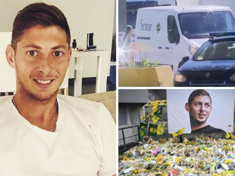 Emiliano Sala's body arrives home in Argentina for funeral
