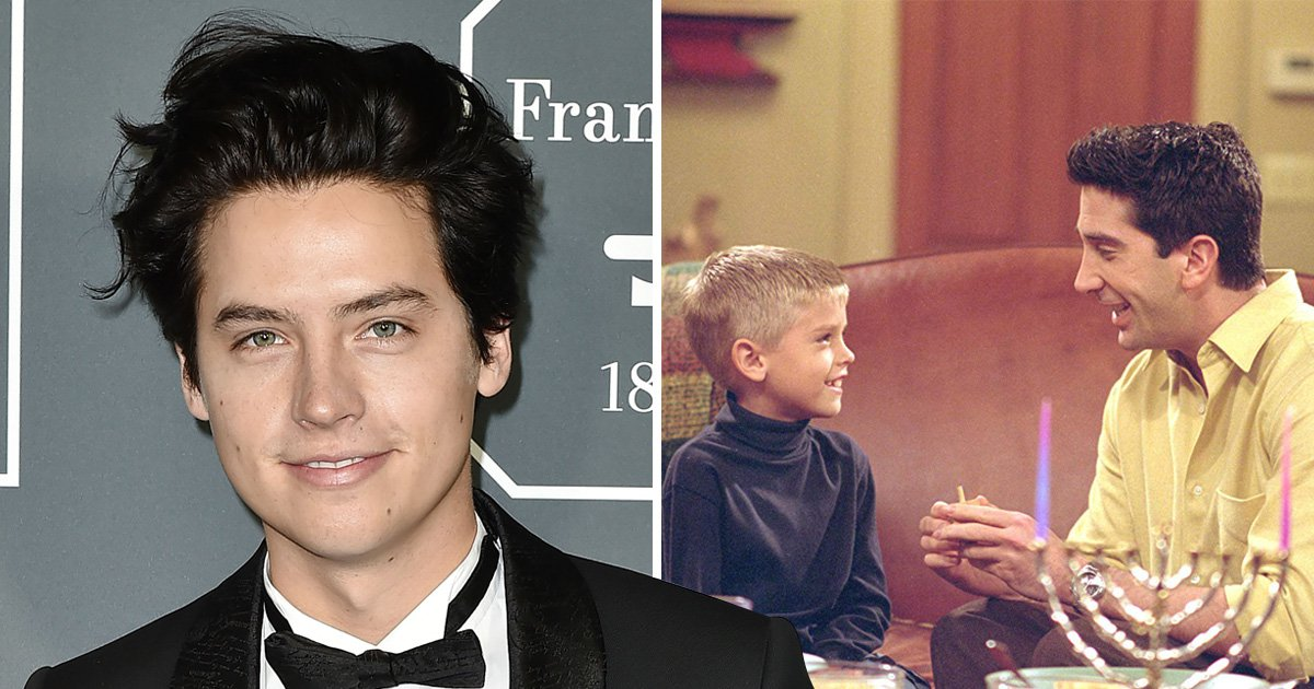 Cole Sprouse as Ben from Friends