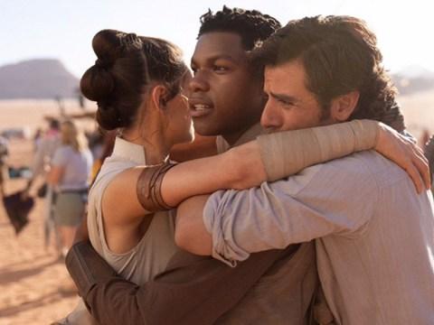 Stars Wars Episode 9 wraps with emotional hug between John Boyega, Daisy Ridley and Oscar Isaac