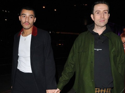 Nick Grimshaw looks loved up with boyfriend Meshach Henry as couple walks hand-in-hand