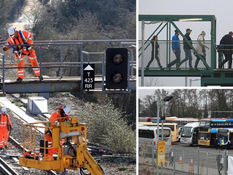 Commuters face nine days of chaos after major rail route closes