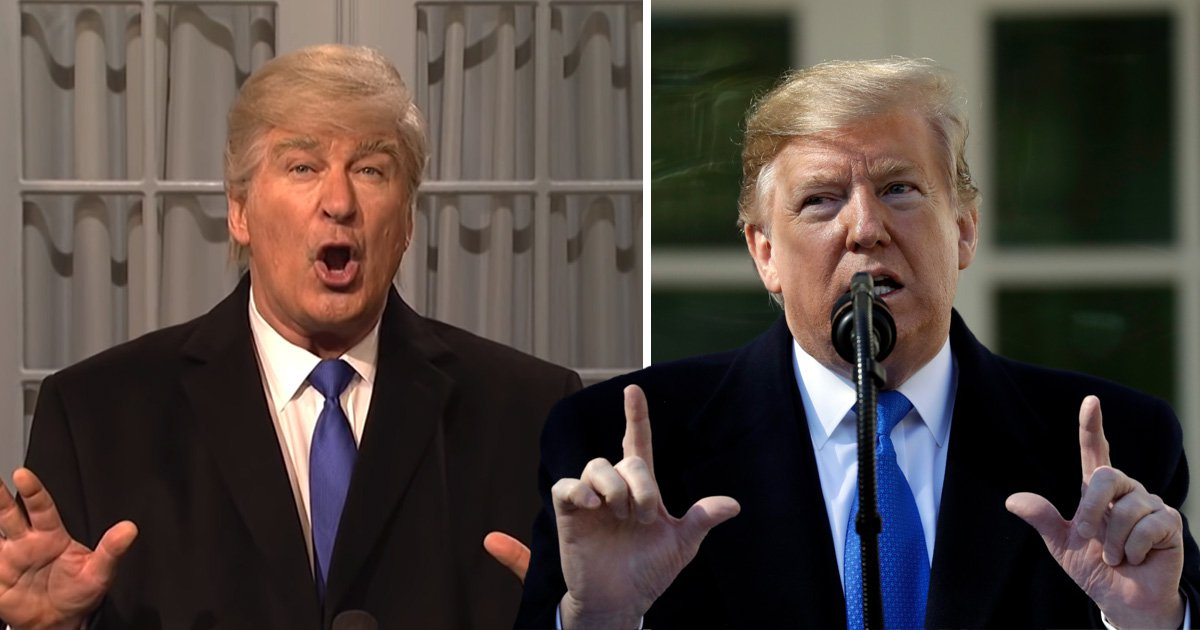 Trump calls for 'retribution' after SNL parodies 'fake' emergency declaration