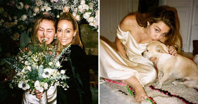 Miley Cyrus Wedding Dress.Miley Cyrus Is Sharing Even More Pictures From Her Secret Wedding