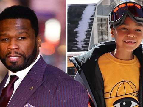 50 Cent shares heartbreaking photo of son amid NYPD shooting threat: 'Why do they want to shoot my dad?'