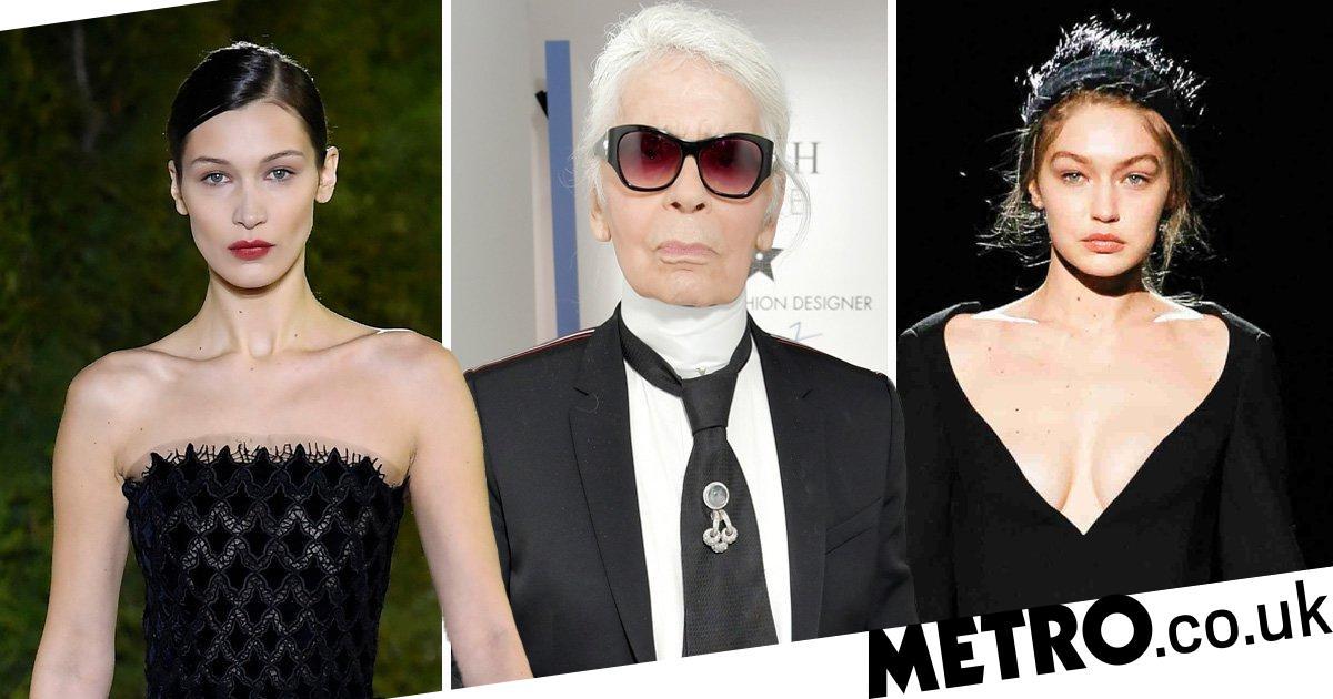 Karl Lagerfeld Dead Gigi Hadid Leads Celebrity Tributes Metro News