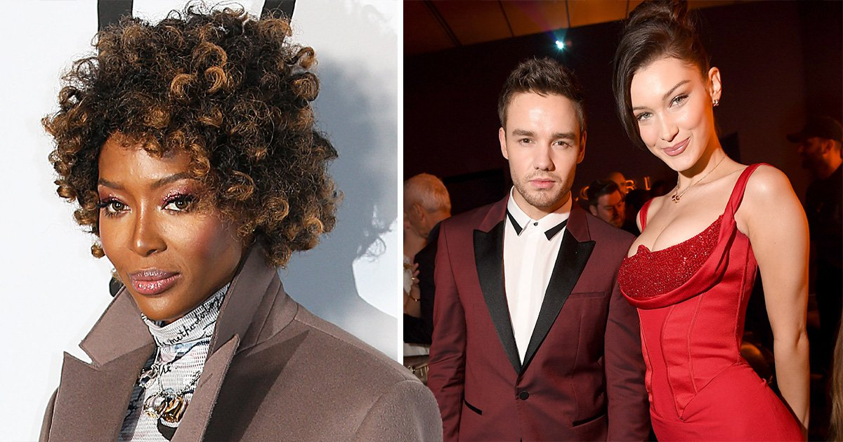 Watch out Naomi – Liam Payne goes all goo-goo eyed as he meets Bella Hadid