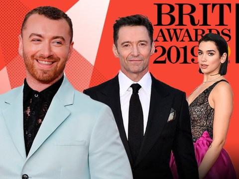 Hugh Jackman, Dua Lipa and Sam Smith light up star-studded Brits 2019 red carpet