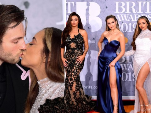 Little Mix bring their boyfriends as dates to Brits 2019 while serving pure thigh action
