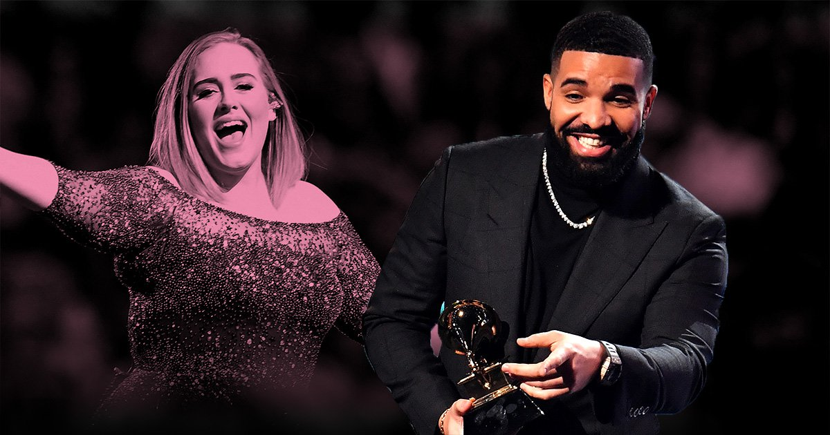 Adele and Drake are BFF goals as they rent entire bowling alley to hang out