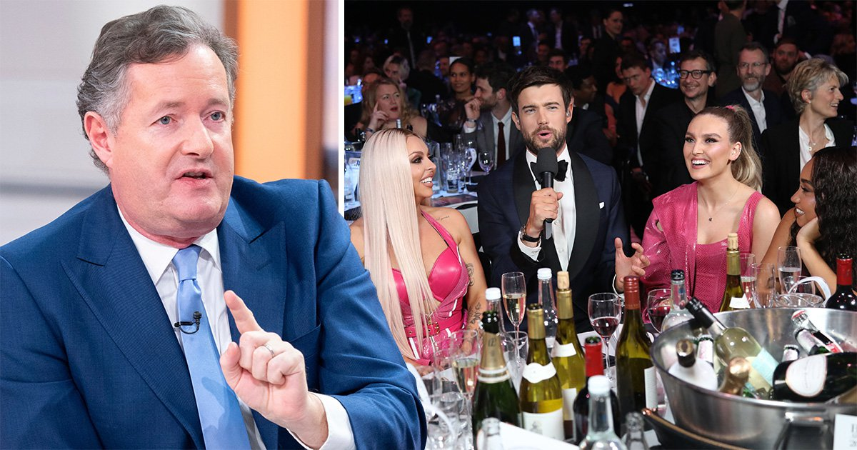Piers Morgan slams Little Mix for 'fat-shaming' as long-standing feud reignites at Brit Awards