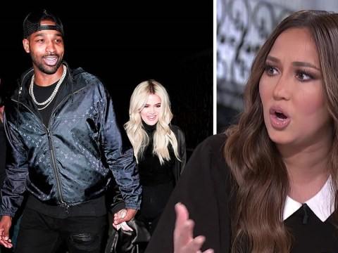 Adrienne Bailon claims Tristan Thompson and Jordyn Woods cheating drama is 'absolutely true' and supports Khloe Kardashian