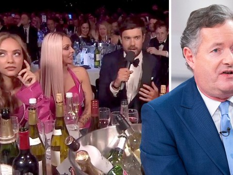 Little Mix's Jade Thirlwall explains that Piers Morgan eye-roll at Brits 2019: 'I'm over it'