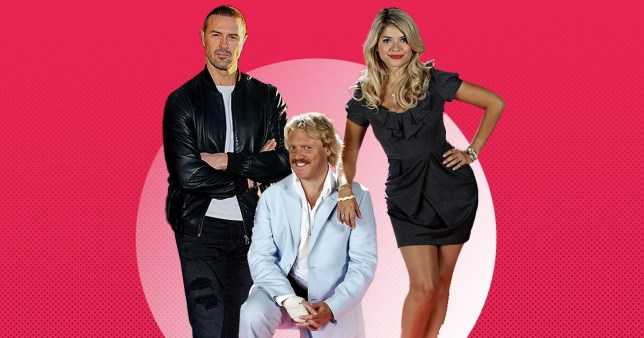 Paddy McGuinness, Keith Lemon and Holly Willoughby as he is named new Celebrity Juice team captain