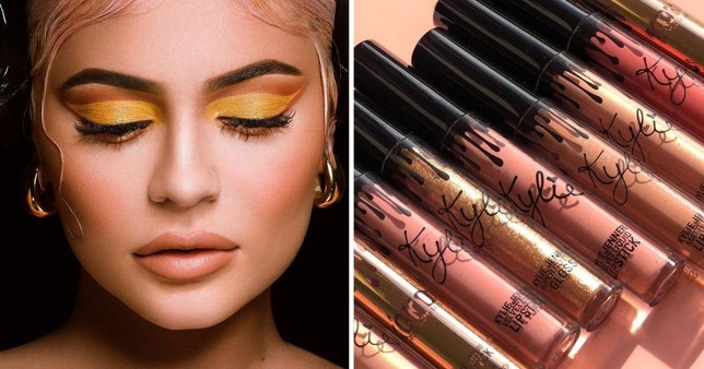 Image result for kylie jenner cosmetics""