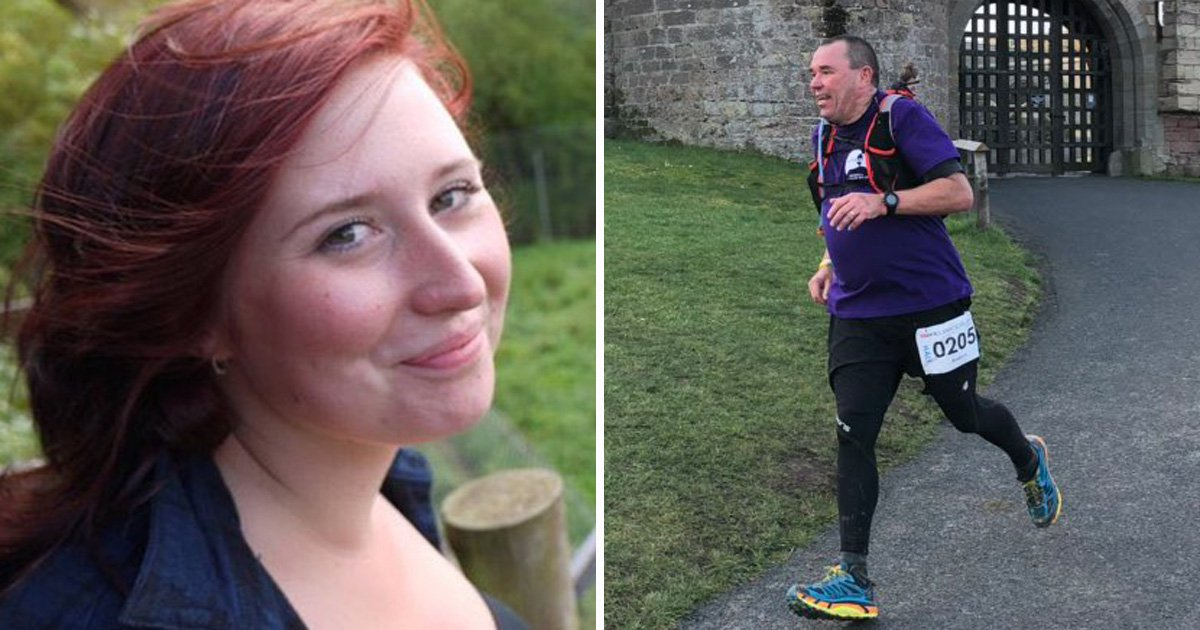 Dad ran daughter's half marathon after she died by suicide
