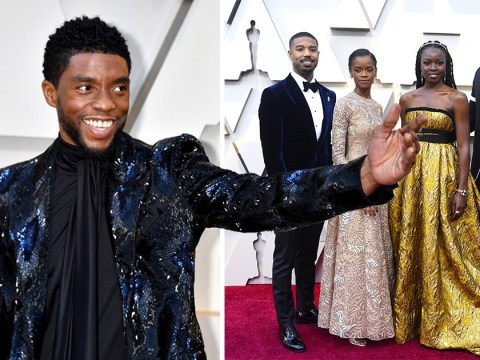 Black Panther cast take Wakanda to red carpet as MCU stars hit Oscars