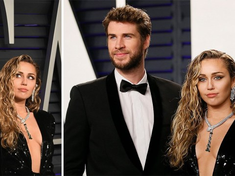 Miley Cyrus and Liam Hemsworth lead the love train at Vanity Fair's Oscars 2019 after-party