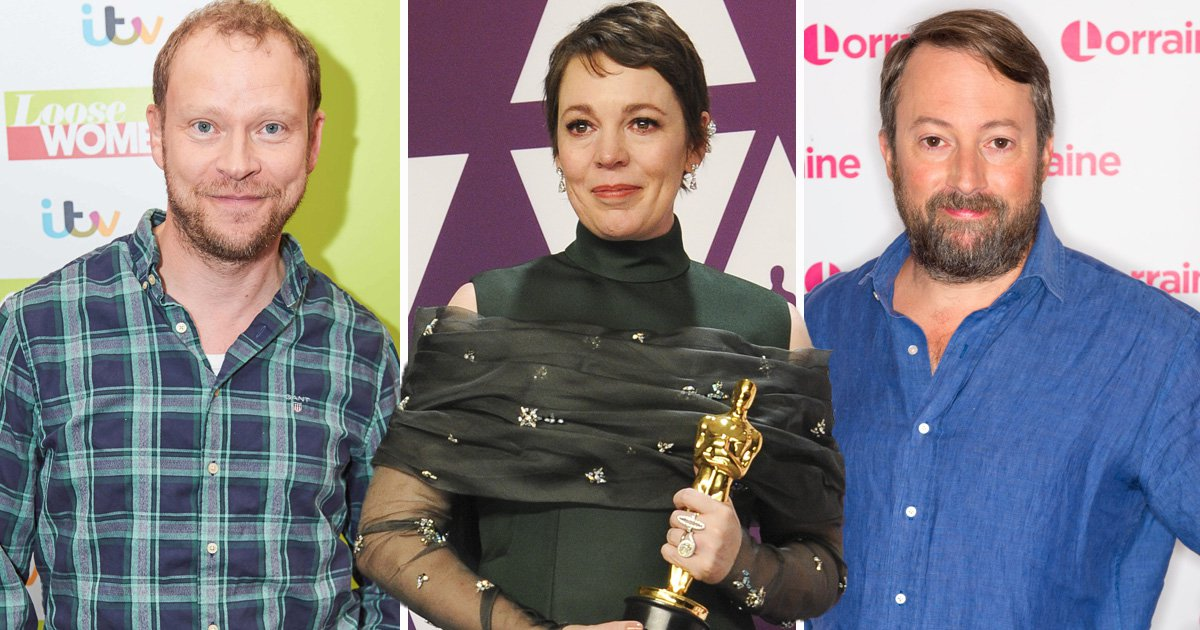 Peep Show's David Mitchell and Robert Webb can't cope with Olivia Colman's Oscar win