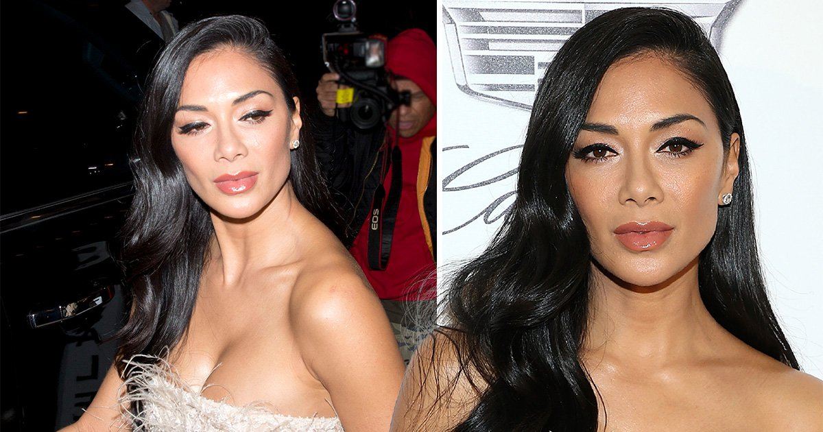 Nicole Scherzinger looks sensational as she puts on brave face and shrugs off Lewis Hamilton tape drama