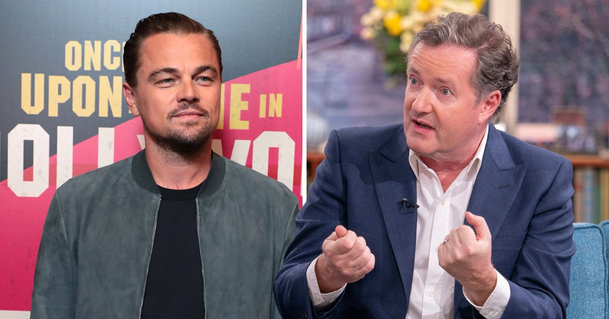 Piers Morgan darts off Good Morning Britain set to confront Leonardo DiCaprio over snub at Oscars party