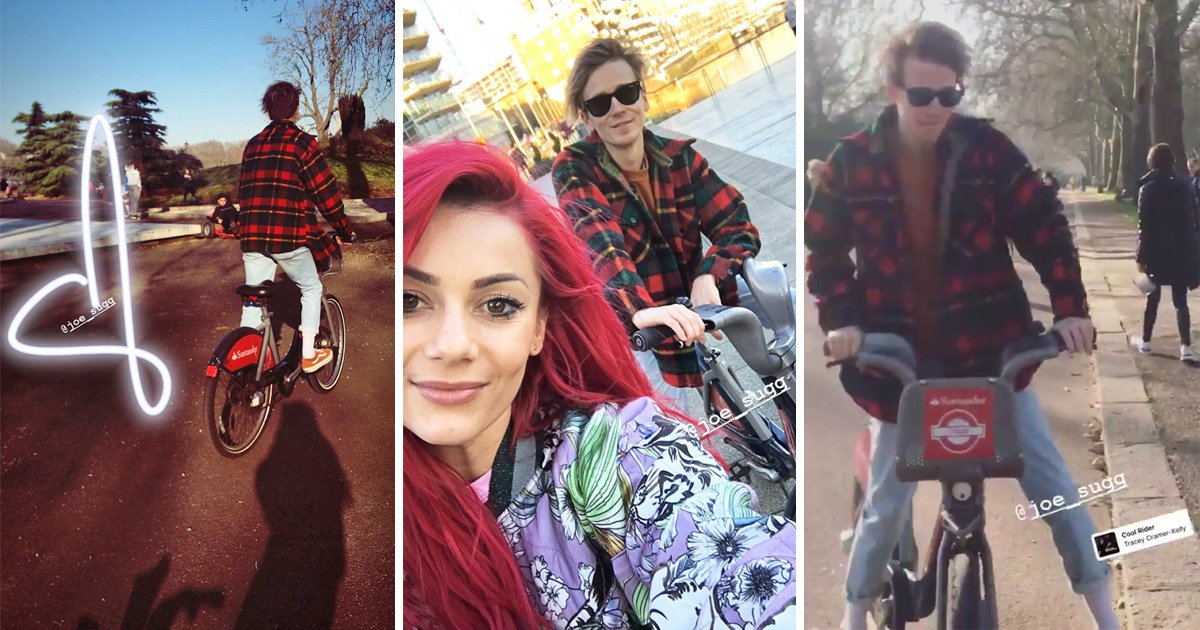 Joe Sugg and Dianne Buswell fans freak out as Strictly Come Dancing couple say 'I love you'
