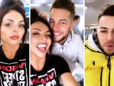 Jesy Nelson and Chris Hughes have just made things Instagram official with their first selfie