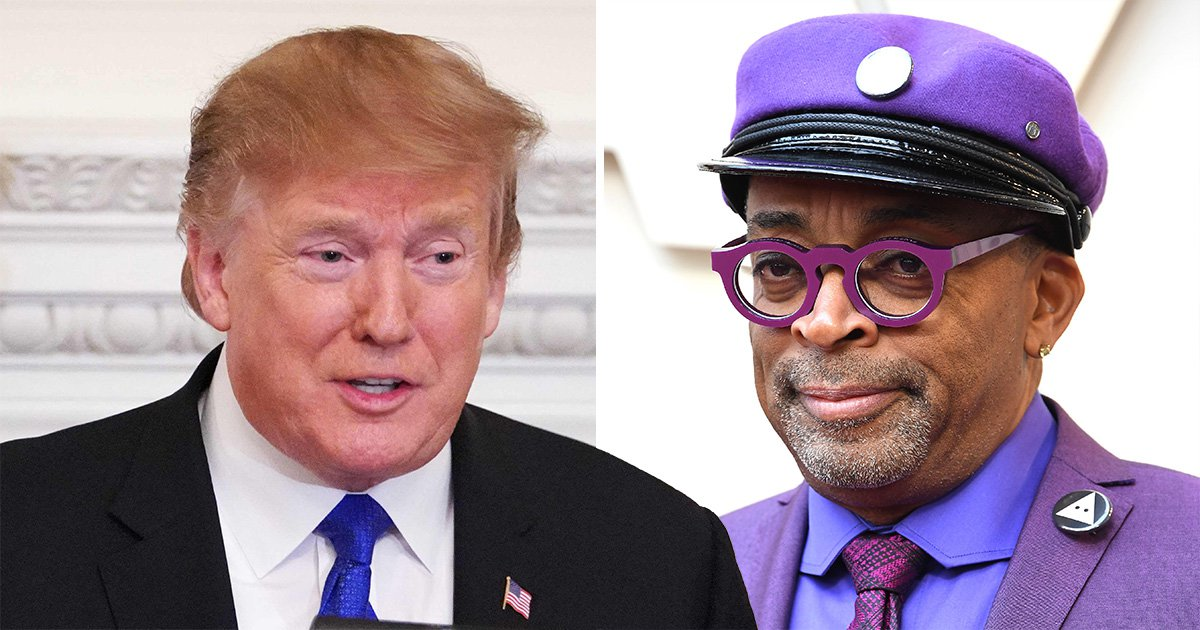 Spike Lee claims Trump is trying to 'change the narrative' after being accused of 'racist hit' on President