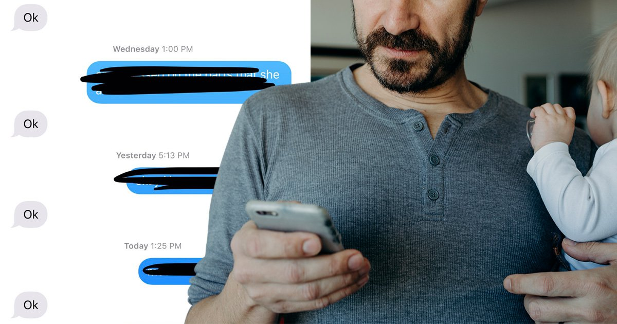 Twitter thread of 'deep convos with dad' shows that they're not the best texters