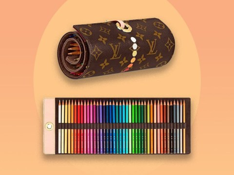 Louis Vuitton is set to sell a £682 pencil case roll so you can feel fancy when you draw