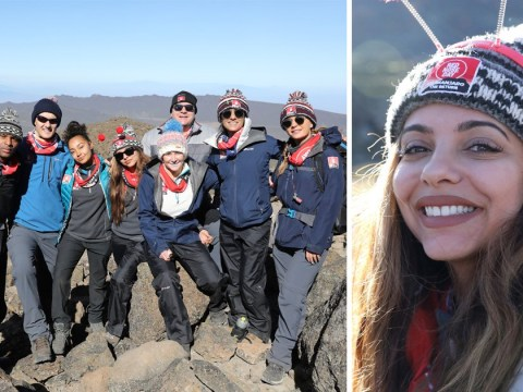 Jade Thirlwall 'vomiting and nauseous' as she falls ill on Day 4 of Mount Kilimanjaro charity climb