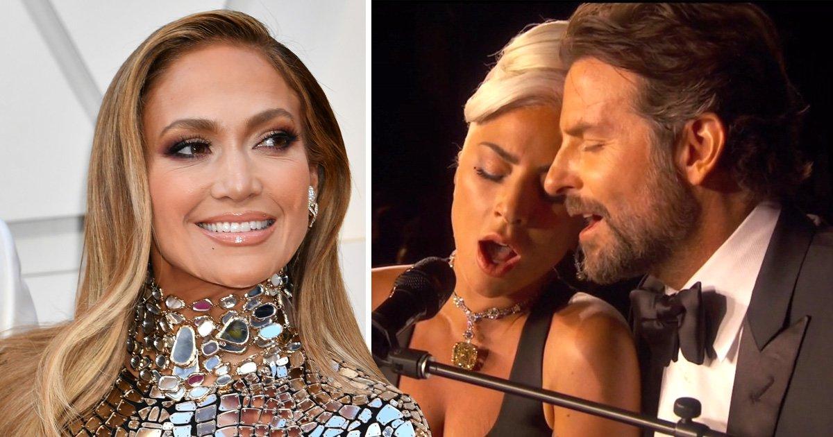 Jennifer Lopez whispered reassurance to 'nervous' Bradley Cooper before his Oscars performance